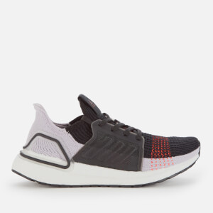 adidas Women's Ultraboost 19 Trainers - Core Black/Soft Vision/Solar Red