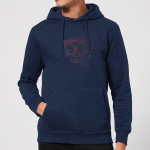 Transformers Autobot Fade Hoodie - Navy