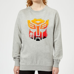 Transformers Autobot Symbol Women's Sweatshirt - Grey