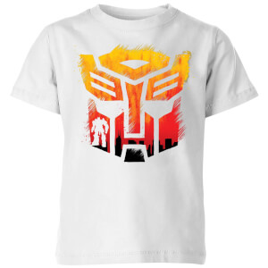 Transformers Autobot Symbol Kids' T-Shirt - White