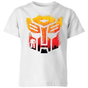 Transformers Autobot Symbol Kids' T-Shirt - White