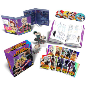 My Hero Academia: Season Three Part One - Collector's Limited Edition Dual Format