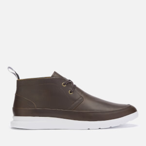 PS Paul Smith Men's Leon Leather Chukka Boots - Dark Brown