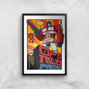 Transformers Roll Out Poster Art Print