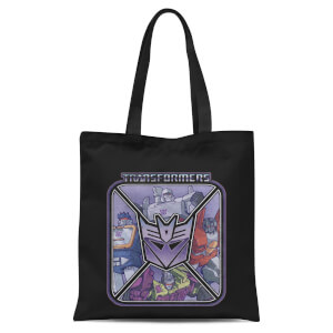 Transformers Decepticons Tote Bag - Black