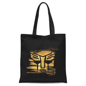 Transformers Gold Autobot Symbol Tote Bag - Black