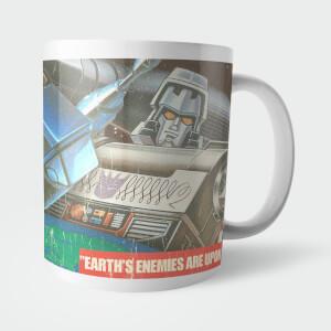 Tazza Transformers Warning