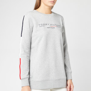 Tommy Hilfiger Women's Charlot Sweatshirt - Light Grey Heather