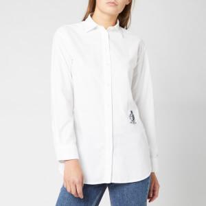Tommy Hilfiger Women's Fawn Boyfriend Shirt - Classic White