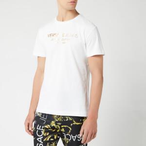 Versace Jeans Men's Logo T-Shirt - Bianco Ottico