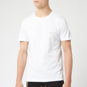 Versace Jeans Men's Small Logo T-Shirt - Bianco Ottico