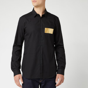 Versace Jeans Men's Long Sleeve Shirt - Nero