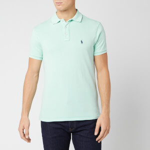 Polo Ralph Lauren Men's Towelling Polo Shirt - Bayside Green