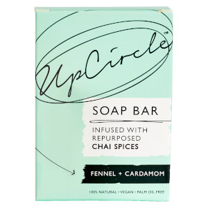 UpCircle Fennel and Cardamom Chai Soap Bar 100g