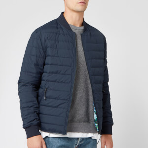 KENZO Men's Padded Reversible Jacket - Navy Blue