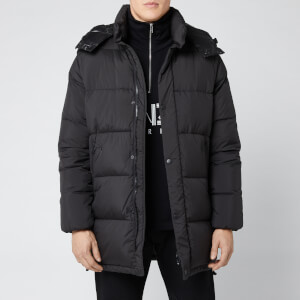 KENZO Men's Elongated Down Jacket - Black