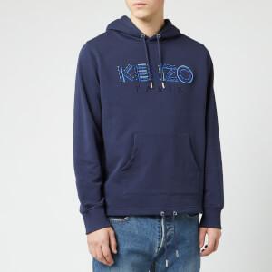 KENZO Men's Paris Cords Pop Over Hoodie - Ink