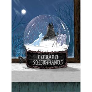 """Litografia del """"Giardino di Edward Mani di Forbice"""" di Matt Saunders 46 x 61 cm, edizione limitata"""
