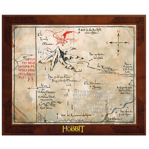 The Hobbit Thorin Oakenshield Map Replica