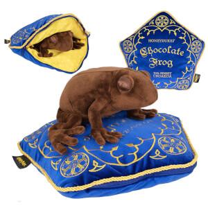 Peluche e cuscino con una Cioccorana, da Harry Potter
