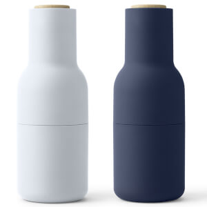 Menu Bottle Grinder - Classic Blue - Set of 2