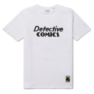 Batman 80th Anniversary Detective Comics T-Shirt - White