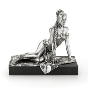 Royal Selangor Star Wars Princess Leia Limited Edition Pewter Figurine 18.5cm (5000 Pieces Worldwide)