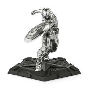Royal Selangor Marvel Captain America First Avenger Figurine 11.5cm