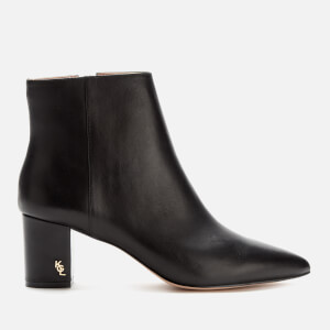 Kurt Geiger London Women's Burlington Leather Heeled Ankle Boots - Black