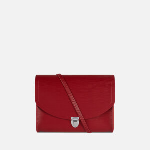 The Cambridge Satchel Company Women's Large Push Lock Bag - Red 1914