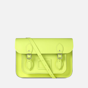 "The Cambridge Satchel Company Women's 13"" Satchel - Neon Yellow"