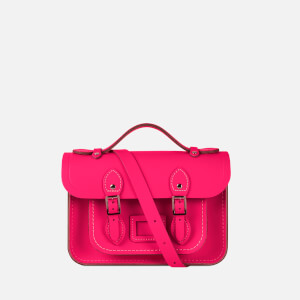 The Cambridge Satchel Company Women's Mini Satchel - Fluoro Pink