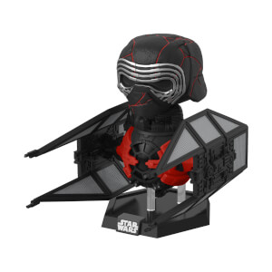 Star Wars The Rise of Skywalker Supreme Leader Kylo Ren in Tie Whisper Pop! Deluxe Figure