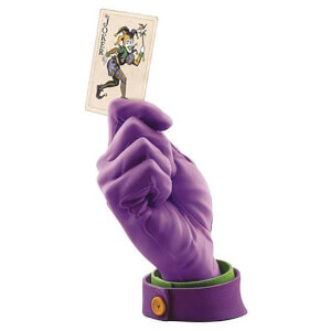 Cryptozoic DC Comics Batman Joker Calling Card Hand Statue