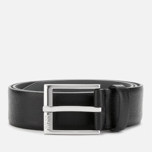 BOSS Men's Clo Palmellato Embossed Belt - Black