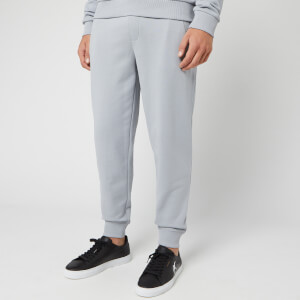HUGO Men's Doak Embroidered Logo Sweatpants - Grey/Blue