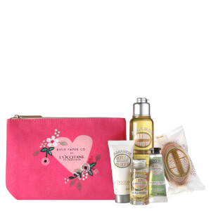 L'Occitane Rifle Paper Co. Almond Discovery Kit