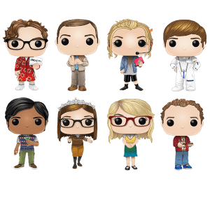 Big Bang Theory Pop! Vinyl - Pop! Collection
