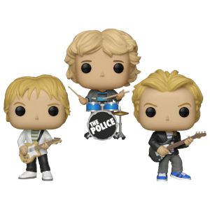 The Police Funko Pop! Vinyl - Funko Pop! Collection