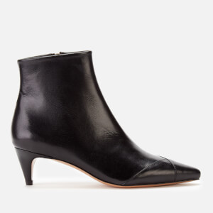 Isabel Marant Women's Durfee Low Heel Ankle Boots - Black