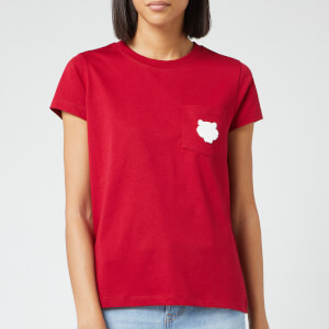 KENZO Women's Tiger Crest Cotton Single Jersey T-Shirt - Cherry
