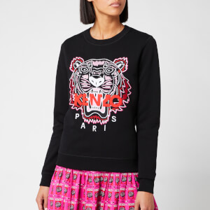 9d90634b KENZO Women's Classic Tiger Light Moleton Sweatshirt - Black