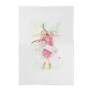 Dancing Queen Cotton Tea Towel