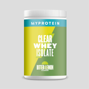 Myprotein Clear Whey Isolate, Bitter Lemon, 20 Servings