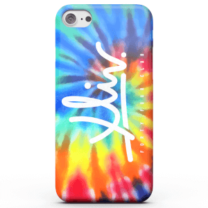 How Ridiculous XLIV Script Tie-Dye Base Phone Case for iPhone and Android