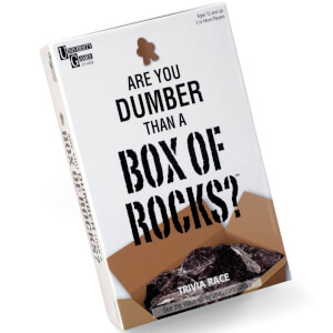 Are You Dumber Than A Box of Rocks Game