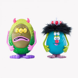 Kidrobot x Shelterbank - Charlie and Cosmic Garbage 2-Pack Designer Toys