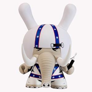 Kidrobot Dunny Locodonta 8 Inch Figure by Jon Paul Kaiser