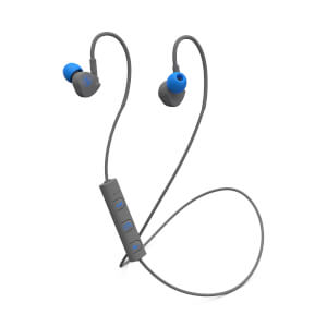 Mixx Memory Fit 1 Bluetooth Wireless Sports Earphones - Grey