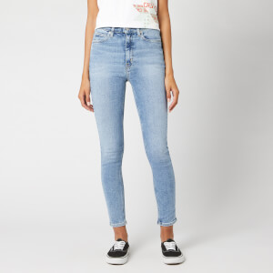 Calvin Klein Jeans Women's 010 High Rise Skinny Fit Ankle Jeans - Everest Stretch